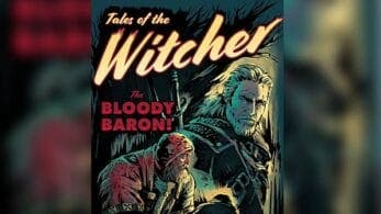No te pierdas este curioso póster estilo Pulp de The Witcher 3 creado por Gibbs Rainock