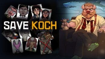 Save Koch estará disponible el 6 de marzo en Nintendo Switch