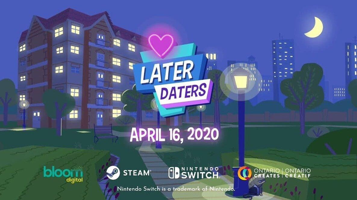 El simulador de citas Later Daters se lanzará el 16 de abril en Switch