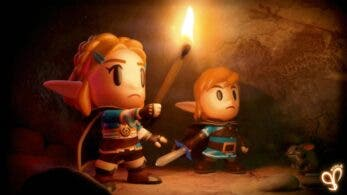 Artista recrea Zelda: Breath of the Wild 2 con el estilo de Link's Awakening