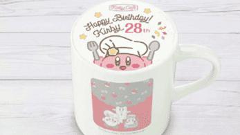 El Kirby Café celebrará el 28 aniversario de Kirby con nuevo menú y merchandising
