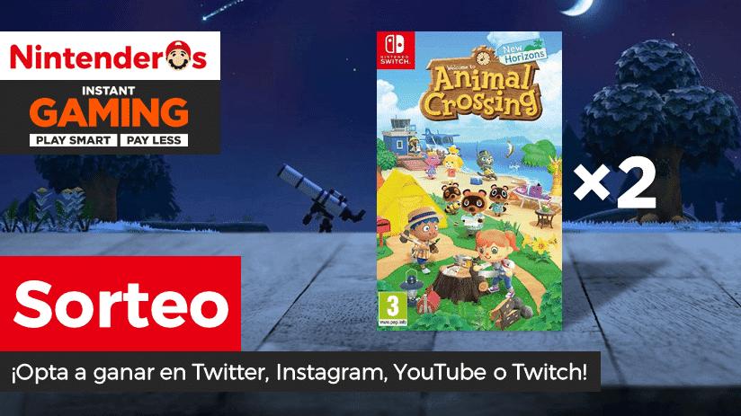 [Act.] ¡Sorteamos otras 2 copias digitales de Animal Crossing: New Horizons para Nintendo Switch!