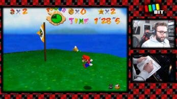 Juegan a Super Mario 64 con una Wii uDraw Tablet