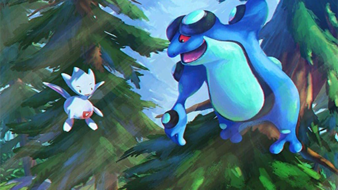 Échale un ojo a este nuevo fondo de carga para Pokémon GO