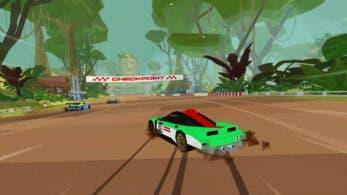 Comprueba cómo luce Hotshot Racing en Nintendo Switch con este gameplay