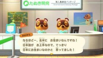 La versión japonesa de Animal Crossing: New Horizons cuenta con un curioso detalle en las preguntas de Tendo y Nendo
