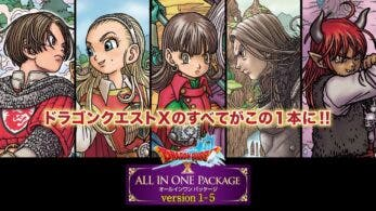 Echad un vistazo al vídeo de introducción de Dragon Quest X «All In One Package» version 1-5