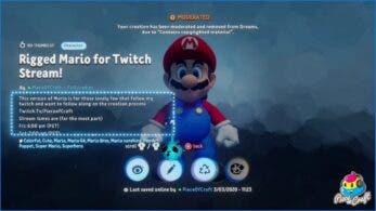 Nintendo comienza a pedir la retirada de creaciones de Dreams que usan sus IP