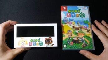 Un vistazo más de cerca a uno de los regalos por reservar Animal Crossing: New Horizons en Corea del Sur