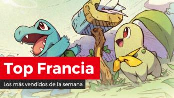 Pokémon Mundo misterioso DX se mantiene como lo más vendido por segunda semana consecutiva en Francia (23/3/20)