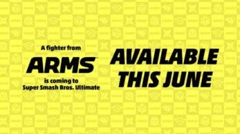 Un personaje de ARMS llegará a Super Smash Bros. Ultimate como DLC en junio