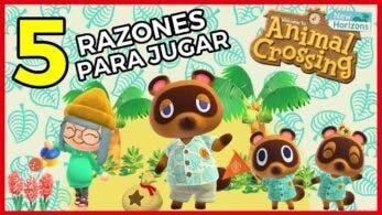 [Vídeo] 5 razones por las que debes jugar Animal Crossing: New Horizons