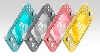 Nintendo Switch Lite empieza a agotarse en Japón