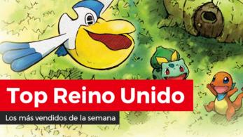 Pokémon Mundo misterioso DX debuta como lo más vendido de la semana en Reino Unido (8/3/20)