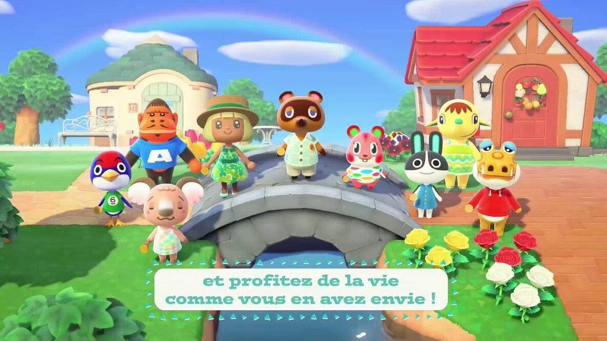 Echa un vistazo a estos comerciales franceses de Animal Crossing: New Horizons