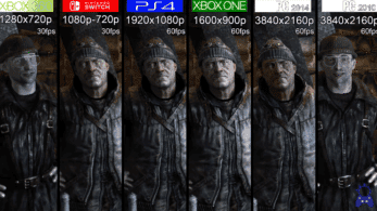 Comparativa en vídeo de Metro 2033 en Switch con Xbox 360, PS4, Xbox One y PC