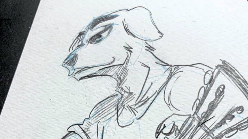 La autora de Beastars dibuja a Totakeke para celebrar el estreno de Animal Crossing: New Horizons