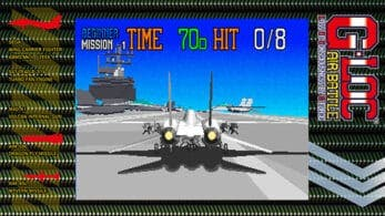 G-LOC Air Battle de SEGA Ages llegará próximamente a Nintendo Switch