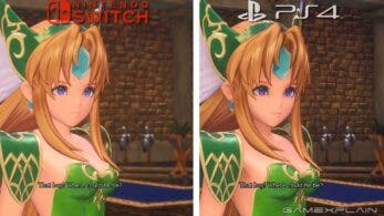 Comparativa gráfica y de los tiempos de carga de Trials of Mana: Nintendo Switch vs. PS4