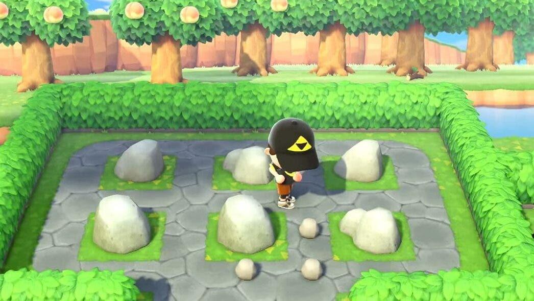 Cómo colocar donde queramos las rocas de la isla en Animal Crossing: New Horizons