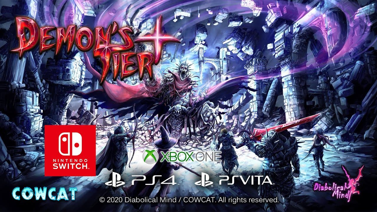 Demon's Tier+ se estrena en junio en Nintendo Switch