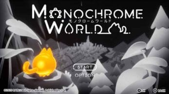 Anunciado Monochrome World para Nintendo Switch
