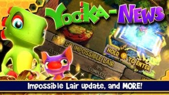 Yooka-Laylee and the Impossible Lair confirma actualización con novedades interesantes