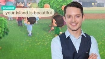 Elijah Wood parece estar buscando los mejores precios de nabos en Animal Crossing: New Horizons