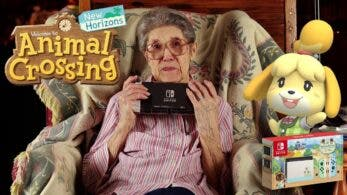 La abuela de Animal Crossing por fin tiene su copia de New Horizons