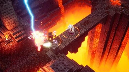 Minecraft Dungeons no emparejará con jugadores aleatorios y se planea cross-play en el futuro