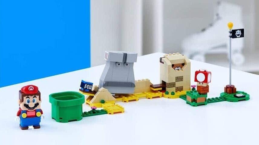 Primer vistazo al set Monty Mole & Super Mushroom de LEGO Super Mario y más fotos