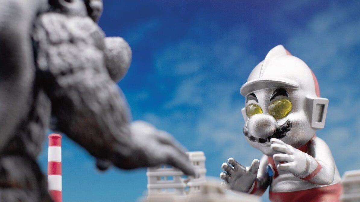 Bid Toys lanzará figuras de Mario y Bowser inspiradas en personajes de la popular serie japonesa Ultraman