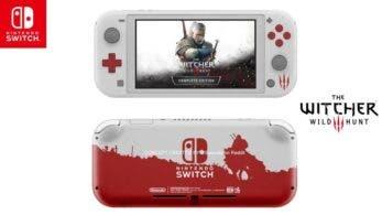 Fan imagina cómo sería una Nintendo Switch Lite edición The Witcher 3: Wild Hunt