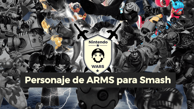 Ronda Final de Nintendo Wars: Personaje de ARMS para Smash Bros. Ultimate: ¡Spring Man vs. Twintelle!