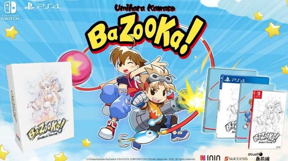 Strictly Limited Games revela dos ediciones físicas limitadas de Umihara Kawase BaZooKa!! para Switch