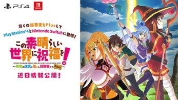 KonoSuba: God's Blessing on this Wonderful World! Labyrinth of Hope and the Gathering of Adventurers! Plus está de camino a Nintendo Switch