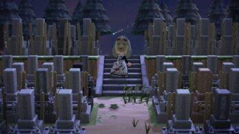 Convierte su isla de Animal Crossing: New Horizons en un cementerio de 1.500 lápidas