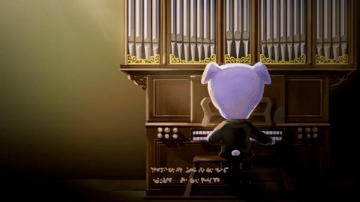 Interpretan el tema Tota-góspel de Animal Crossing con un órgano real