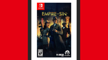 Así luce la portada americana de Empire of Sin para Nintendo Switch