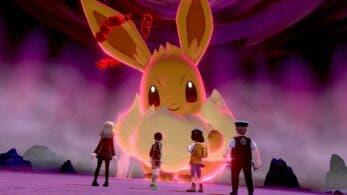 Eevee Gigamax protagoniza el nuevo evento de Incursiones Dinamax de Pokémon Espada y Escudo
