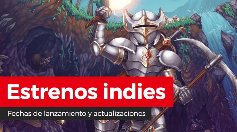 Estrenos indies: Bossgard, Clunky Hero, CrossCode, Infliction, Ministry of Broadcast, Terraria, Urban Flow, What the Golf? y más
