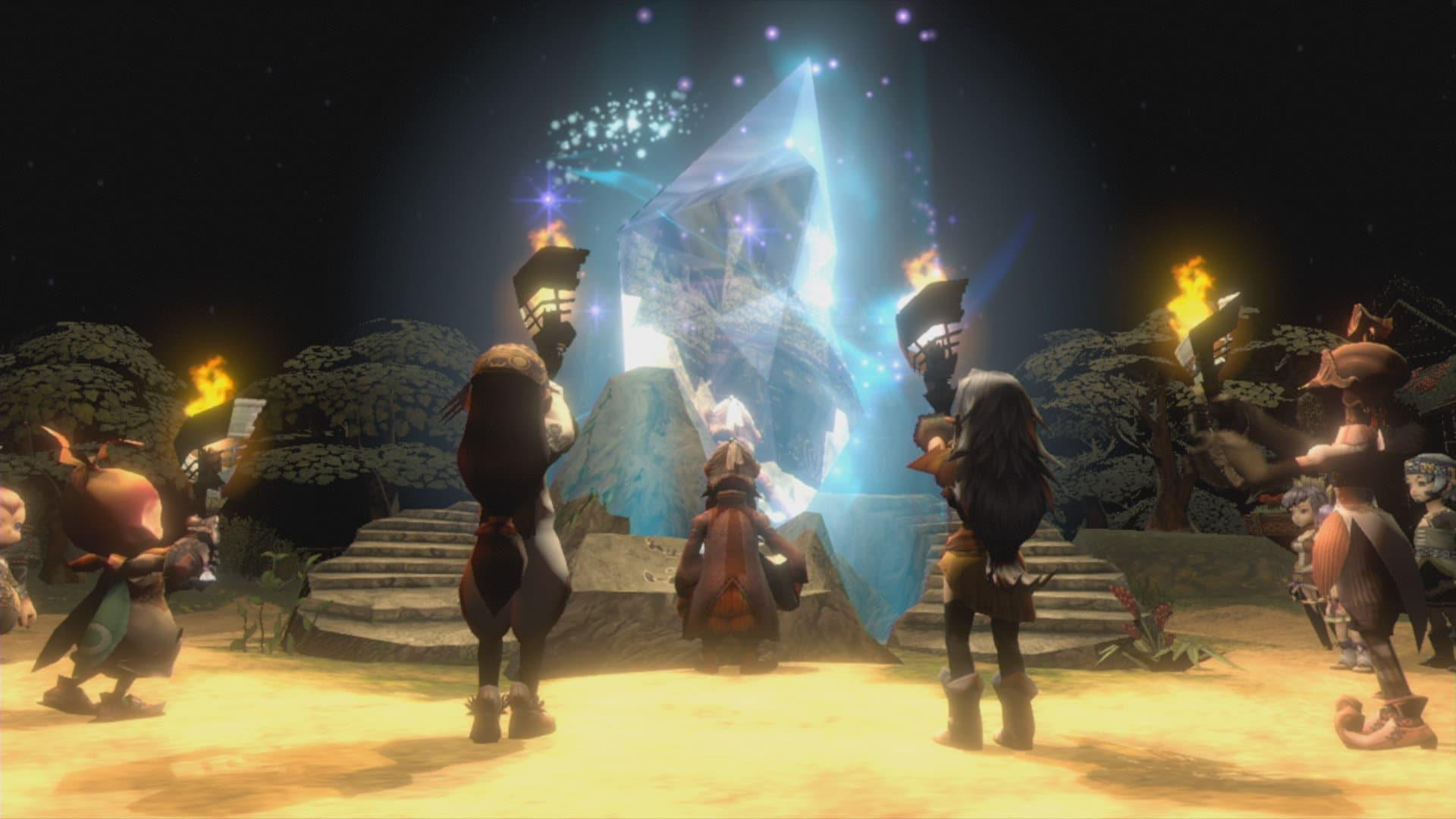 El multijugador de Final Fantasy Crystal Chronicles: Remastered Edition requiere Nintendo Switch Online y tendrá bloqueo regional
