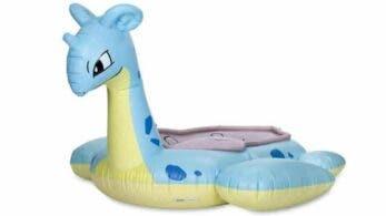 No te pierdas este impresionante flotador de Lapras que puedes adquirir en Pokémon Center
