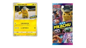 Pokémon Center regala esta carta de Detective Pikachu con la compra de sets del JCC