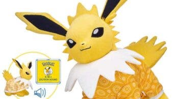 Jolteon se une a la colección de Pokémon de Build-a-Bear