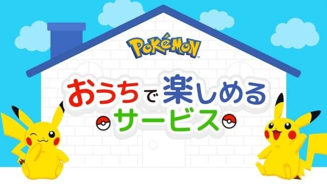 The Pokémon Company lanza la página web «Diviértete en casa» en Japón