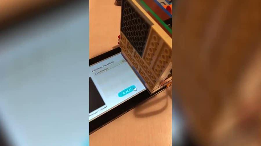 Jugador de Animal Crossing inventa un robot de LEGO que fabrica cebos
