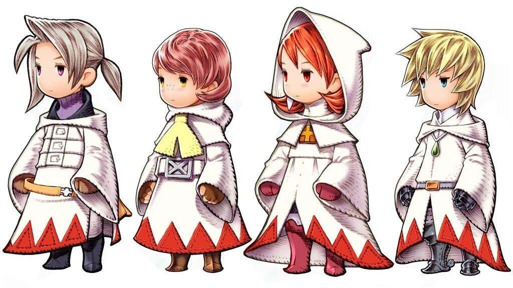 Diseñador de Final Fantasy III comparte las claves detrás de la clásica túnica de Mago Blanco