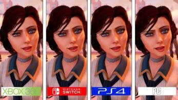 Nueva comparativa en vídeo de BioShock Infinite para Nintendo Switch