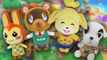 Merchoid está ofreciendo estos adorables peluches de Animal Crossing